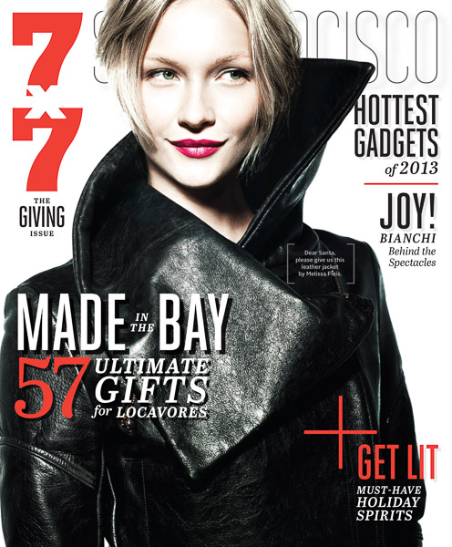 7x7 December 2013 The Giving Issue Cover