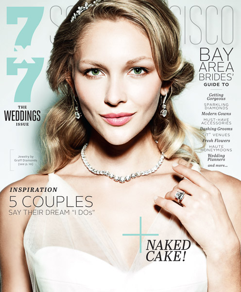7x7 Wedding Issue Cover 2014